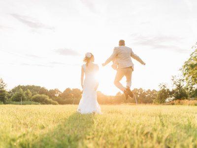 Hochzeit von Jasmin und Christopher auf dem schönen Weiherhof Wächtersbach